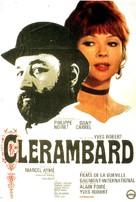 Clérambard - French Movie Poster (xs thumbnail)