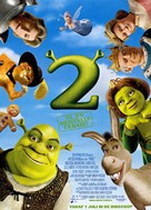 Shrek 2 - Dutch Movie Poster (xs thumbnail)