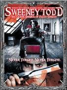 Sweeney Todd: The Demon Barber of Fleet Street - DVD movie cover (xs thumbnail)