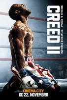 Creed II - Slovak Movie Poster (xs thumbnail)