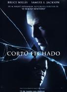 Unbreakable - Brazilian Movie Poster (xs thumbnail)