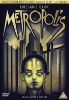 Metropolis - British DVD movie cover (xs thumbnail)