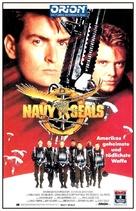Navy Seals - German VHS cover (xs thumbnail)