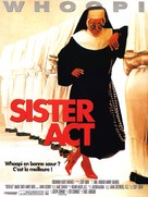 Sister Act - French Movie Poster (xs thumbnail)