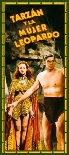 Tarzan and the Leopard Woman - Spanish Movie Cover (xs thumbnail)