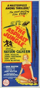 The Asphalt Jungle - Australian Movie Poster (xs thumbnail)
