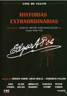 Histoires extraordinaires - Spanish Movie Cover (xs thumbnail)