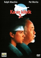 The Karate Kid, Part II - Hungarian DVD cover (xs thumbnail)
