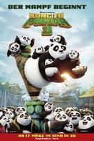 Kung Fu Panda 3 - Swiss Movie Poster (xs thumbnail)