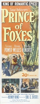 Prince of Foxes - Movie Poster (xs thumbnail)