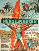 Witchfinder General - Danish Movie Poster (xs thumbnail)