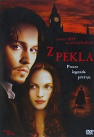 From Hell - Czech DVD movie cover (xs thumbnail)