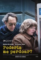 Can You Ever Forgive Me? - Brazilian Movie Poster (xs thumbnail)