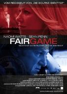 Fair Game - German Movie Poster (xs thumbnail)