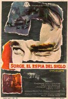 Qui êtes-vous, Monsieur Sorge? - Spanish Movie Poster (xs thumbnail)