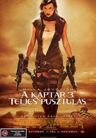 Resident Evil: Extinction - Czech Movie Poster (xs thumbnail)