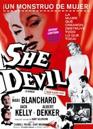 She Devil - Spanish Movie Poster (xs thumbnail)
