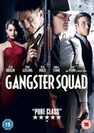 Gangster Squad - British DVD movie cover (xs thumbnail)