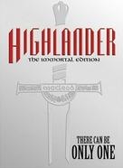 Highlander - DVD cover (xs thumbnail)