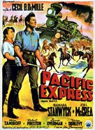 Union Pacific - Belgian Movie Poster (xs thumbnail)