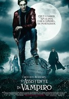Cirque du Freak: The Vampire's Assistant - Portuguese Movie Poster (xs thumbnail)