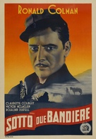 Under Two Flags - Italian Movie Poster (xs thumbnail)