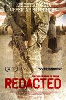 Redacted - Swedish Movie Poster (xs thumbnail)