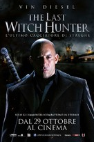 The Last Witch Hunter - Italian Movie Poster (xs thumbnail)