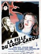 Cry of the Werewolf - French Theatrical poster (xs thumbnail)