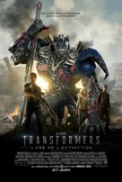Transformers: Age of Extinction - Canadian Movie Poster (xs thumbnail)