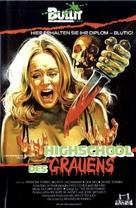Splatter University - German Movie Poster (xs thumbnail)