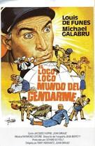 Gendarme et les gendarmettes, Le - Spanish Movie Poster (xs thumbnail)