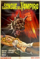 Blood of the Vampire - Italian Movie Poster (xs thumbnail)