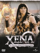 """Xena: Warrior Princess"" - Mexican DVD movie cover (xs thumbnail)"