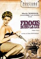 Outlaw Women - French DVD cover (xs thumbnail)
