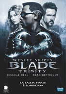 Blade: Trinity - Italian Movie Cover (xs thumbnail)