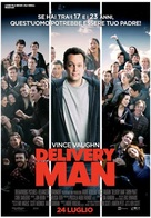 Delivery Man - Italian Movie Poster (xs thumbnail)