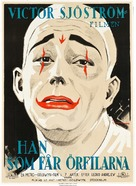 He Who Gets Slapped - Swedish Movie Poster (xs thumbnail)