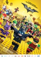 The Lego Batman Movie - Romanian Movie Poster (xs thumbnail)