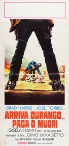 Arriva Durango... paga o muori - Italian Movie Poster (xs thumbnail)