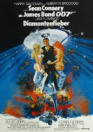 Diamonds Are Forever - German Theatrical poster (xs thumbnail)