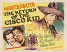 Return of the Cisco Kid - Movie Poster (xs thumbnail)