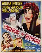 Sunset Blvd. - Belgian Movie Poster (xs thumbnail)