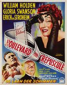 Sunset Blvd. - Belgian Movie Poster (xs thumbnail)
