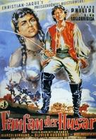 Fanfan la Tulipe - German Movie Poster (xs thumbnail)