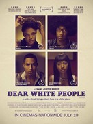 Dear White People - British Movie Poster (xs thumbnail)
