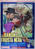 The Black Whip - Italian Movie Poster (xs thumbnail)