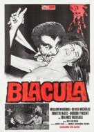 Blacula - Italian Movie Poster (xs thumbnail)