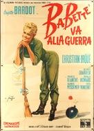 Babette s'en va-t-en guerre - Italian Movie Poster (xs thumbnail)