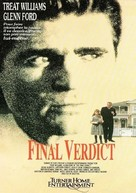 Final Verdict - French VHS movie cover (xs thumbnail)